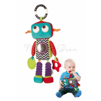 Harga Klank The Robot Activity Toy Infant Toddler Baby Educational Developmental Teether Hug Tug Rattle Stuffed Plush Toy