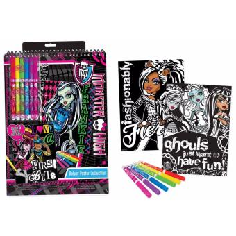 Harga Monster High Velvet Poster Set