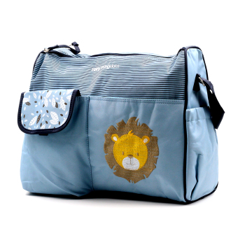 Harga BABY STEPS Baby Lion Baby Diaper Bag (Blue)