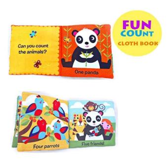 Harga SOFTBOOK COUNTING FUN CLOTH BOOK
