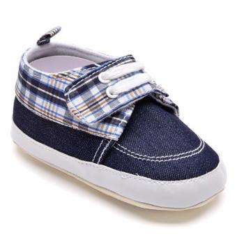 Harga Wonder Years SHO-RB-1114-NB Infant Boy Shoes (Navy Blue)