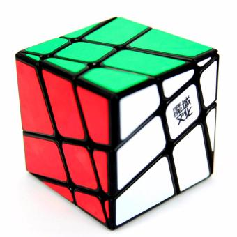 Harga Rubik's Cube MoYu Windmill Fenghuolun Brain Toy Magic Cube Puzzle Cube Black Body YJ8226
