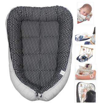 Babycuddleph Black Mini Star Baby Bed (Black/White) Price Philippines
