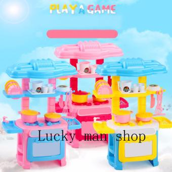 Harga USA TOP ONE lazada and USA best selling mini kitchen toys free Cartoon sticker