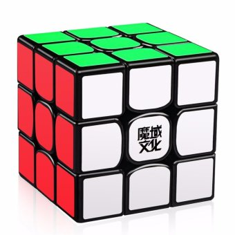 Harga MoYu WeiLong GTS2 3x3x3 Speed Magic Cube Puzzle YJ8250 Black