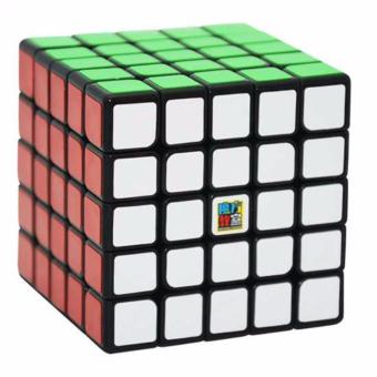 Harga MoFang JiaoShi MF5 5x5x5 Rubik's Cube Brain Teasers Speed Magic Cube Puzzles MF8809 Black Body