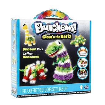 Harga Bunchems Glow in the Dark Dinosaur Pack
