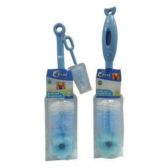 2 Pcs. Coral Babies Bottle and Nipple Brush Price Philippines