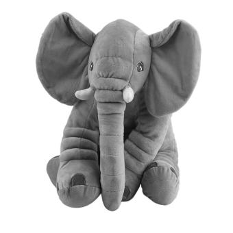 USTORE Stuffed Animal Cushion Kids Baby Sleeping Soft Pillow Toy Cute Elephant Cotton Gray - intl Price Philippines