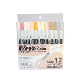 Harga Deleter 4933465890335 Neopiko-color skin 12 colors set ORIGINAL*