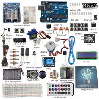 Harga From Knowing to Utilizing Kit V1.0 Starter Basic Kit for Arduino UNO R3 - intl