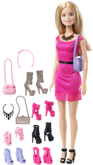 Barbie Blonde Doll and Shoes Gift Set Price Philippines