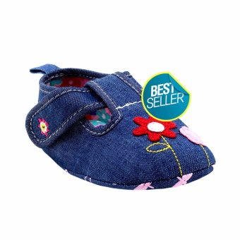 BABY STEPS Bloom Baby Girl Sandals (Blue) Price Philippines