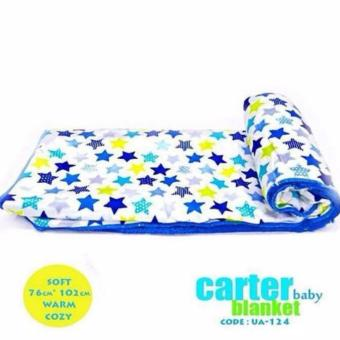 Harga Carters Plush Baby Blanket