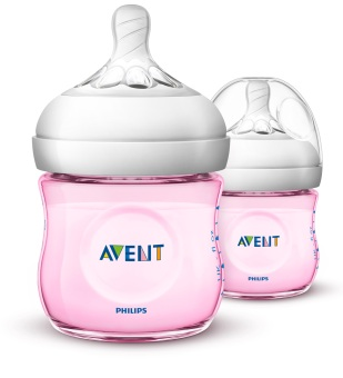 Philips Avent Feeding Bottle 4oz Twin Pack (Pink) Price Philippines