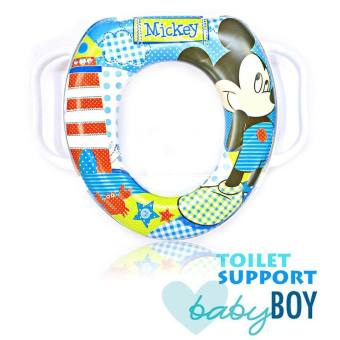 Harga Toilet Seat Support Mickey Mouse