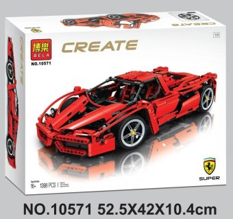 Bole 10571 Enzo Ferrari F1 1398pcs Building Blocks - intl Price Philippines