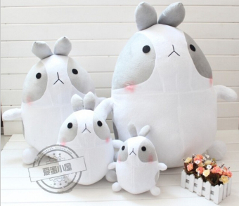 Harga 9.8'' 25cm Cute Plush Toy Stuffed Rabbit Molang Potatoes Rabbit Doll Girl's Gift Kids Toy Christmas Gift - intl