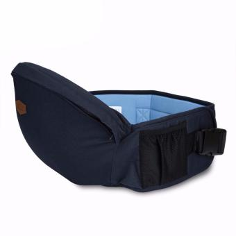 Baby Carrier Hold Waist Belt Hip Seat Chair Carrier, Navy Blue Price Philippines