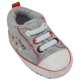 Enfant Baby Boy Shoes with star design (grey) Price Philippines