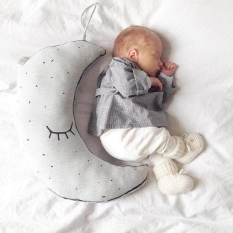 Harga Luminous Moon Pillow Cotton Baby Plush Toys