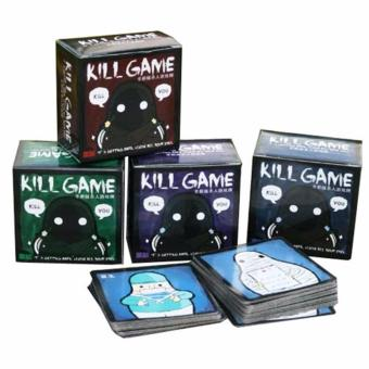 Harga 1 Box Kille Game Q Version Kill Card Game Family Friends Party Board Game - intl