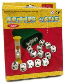 Harga Letter Game Boggle Word Making Puzzle Word Factory