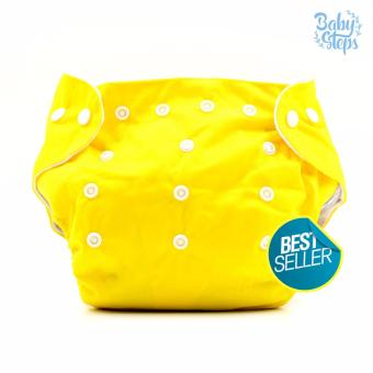 BABY STEPS Cloth Baby Diapers (Yellow) Price Philippines