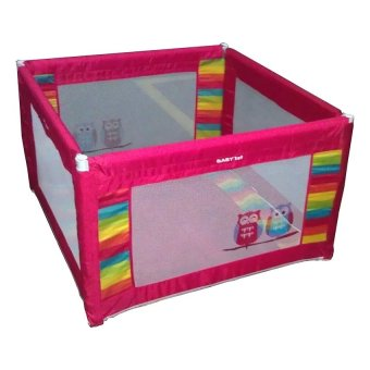 Baby 1st P-521D Baby Crib / Play pen (Red) Price Philippines
