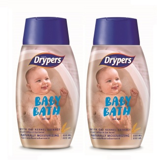 Harga Drypers Baby Bath 220ml Pack of 2