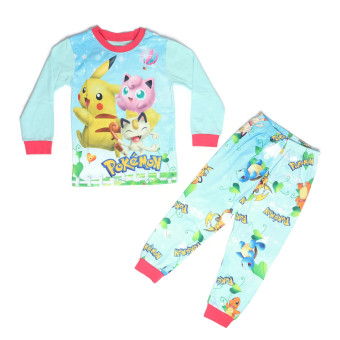 Harga Cuddle Me Sleepwear Pajamas Set Pokemon Go