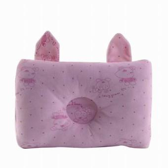 Harga EOZY Newborn Baby Head Protection Pillow Neck Support Pillow Head Positioner Memory Cushion For Infant Toddlers (Pink) - intl