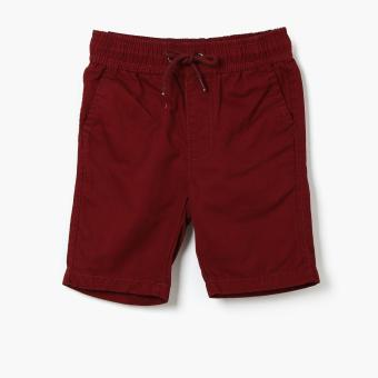 Harga Just Jeans Boys Drawstring Bermuda Shorts (Red)