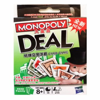 Harga Monopoly Deal Card Game