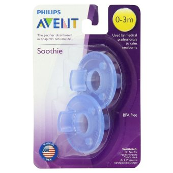 Philips Avent - Soothie Pacifier, Blue, 0-3 Months, Pack of 2 Price Philippines