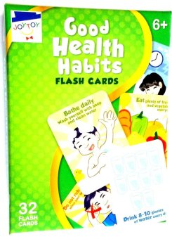 Harga Good Health Habits Flash Cards