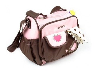 Harga Carter's Heart Small Diaper Bag -Pink-