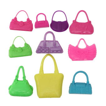 10 x Fashion Barbie Doll Accessories Barbie Handbag Shoulder Bag Cute Girl Toy Price Philippines