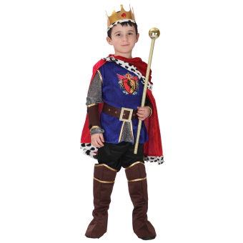 Harga EOZY Halloween Children Boys King Cosplay Costume Halloween Prince Charming Party Clothes -L