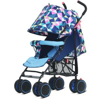 Portable car can sit can lie portable umbrella stroller Price Philippines
