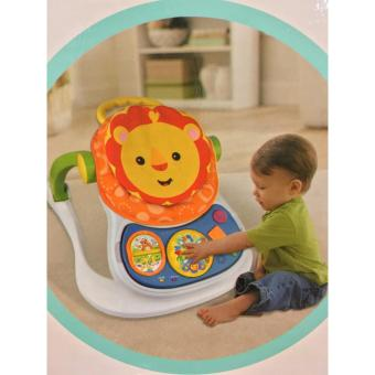 Harga 4-in-1 Multifunctional Entertainer Lion Baby Walker(Orange)