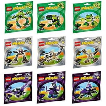 Harga LEGO Mixels Series 3 Complete Set of All Figures/Characters