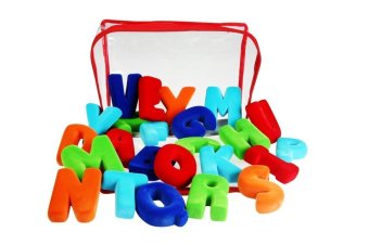 Rubbabu Alphabet Set Upper Case Small Non Magnetic (Multicolor) Price Philippines