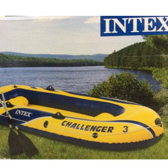 Partyline Intex Inflatable Swim Boat Challenger3/2oars/pump-2.95x1.37x.43m Price Philippines