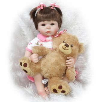 Harga NPK Collection Reborn Doll the Simulation Baby Baby Princess Baby Toys Children's Day Gift 20inch/50cm - Intl