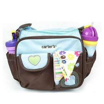 Harga Carter's Small Nursery Diaper Bag (Blue/Brown)