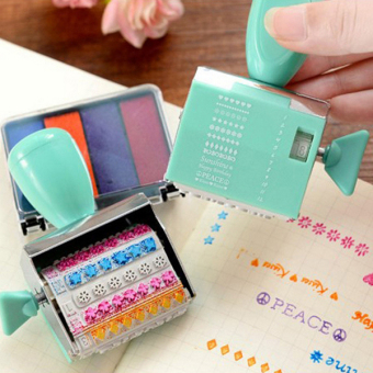 Harga Children's English letters seal Incentive seal kids stamp toys