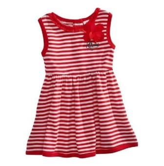 Harga Guess Baby Dress - Red Stripes (24 Months)