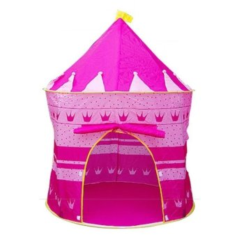 Harga Cubby House Castle Tent (Pink)