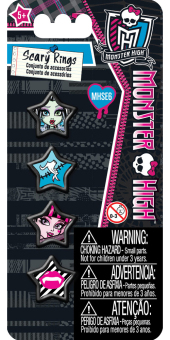 Harga Monster High Bijou Rings Set